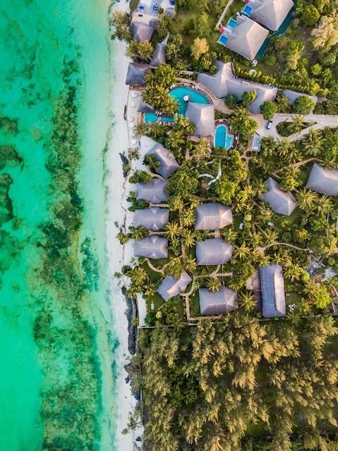 Resort en Zanzíbar