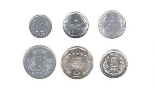 Monedas de la India