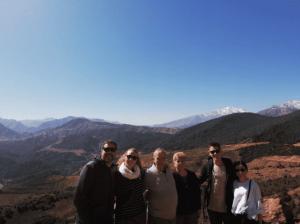 Familia en Marruecos