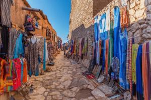 Zoco marroquí