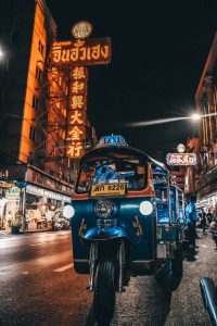 Calle de Bangkok