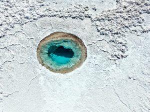 Cráter en San Pedro de Atacama