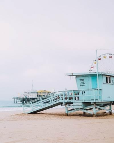 playa de Santa Mónica