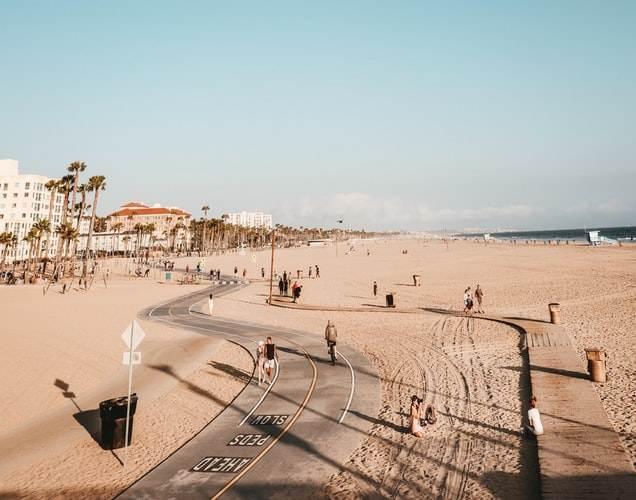 Famoso paseo marítimo de Venice Beach