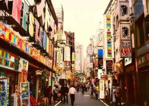 Calle de shinjuku, Japón