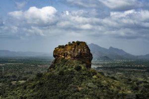 Vista de Dambulla, complejo monástico en Sri Lanka