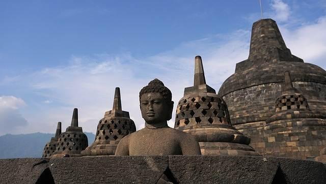 El templo Borobudur