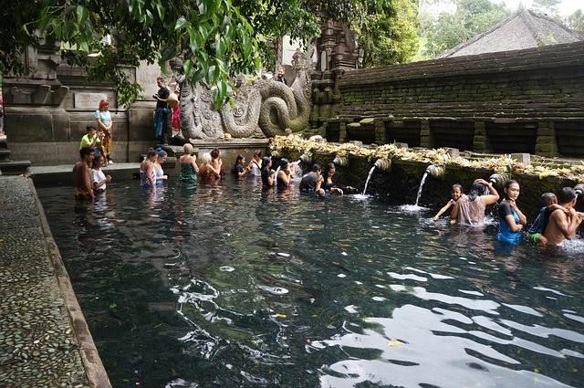 Tirta Empul templo de la purificación