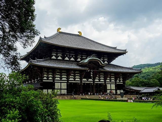 Todai-ji templo de madera