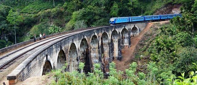 viaje en tren por Sri Lanka
