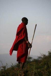 Persona de la tribu Masai