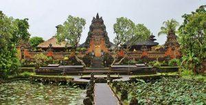 templo en la ciudad de Ubud
