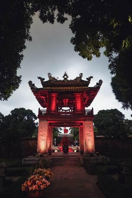 Van Mieu Vietnam