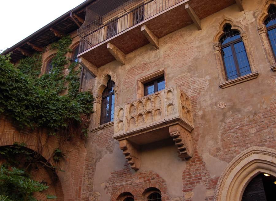 balcon casa de julieta en verona