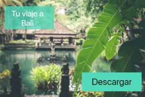 Tu viaje a Bali - banner
