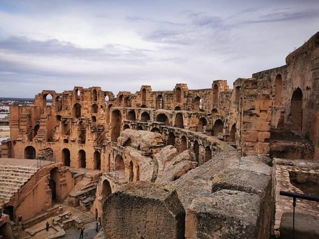Viaje a Túnez con el coliseo romano