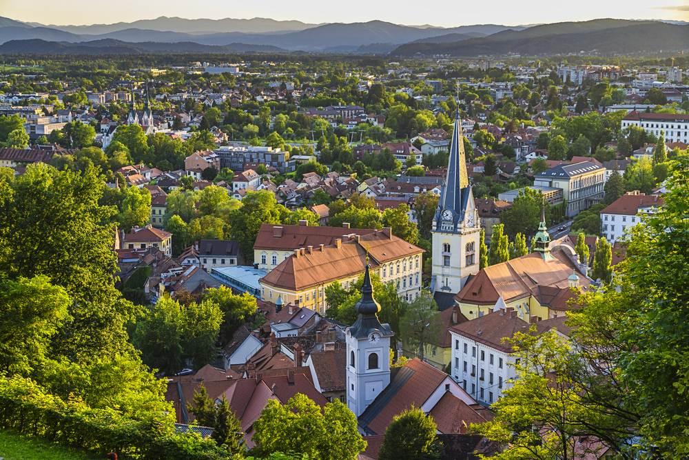 La ciudad del dragón: Liubliana