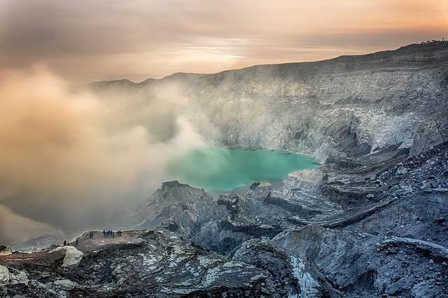 Volcán Kawah Ijen